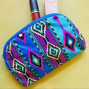 Vintage Tribal Makeup Pouch